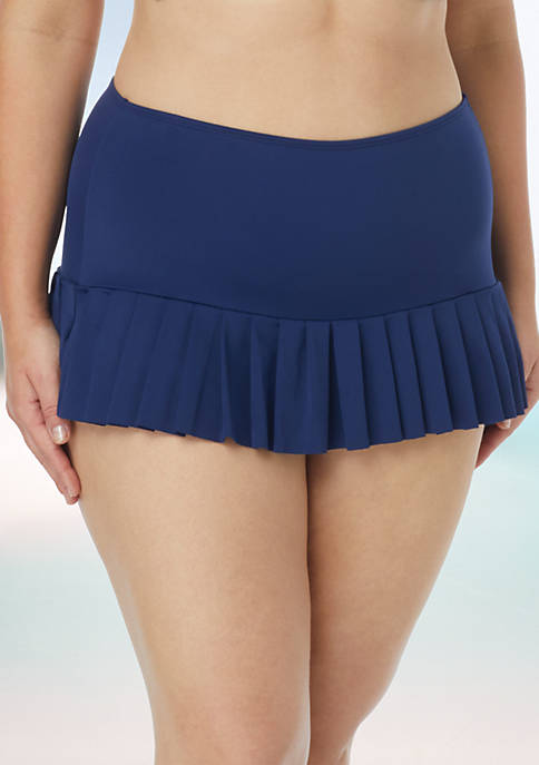 Beach House Plus Size Swim Sophia Pleat Bottom
