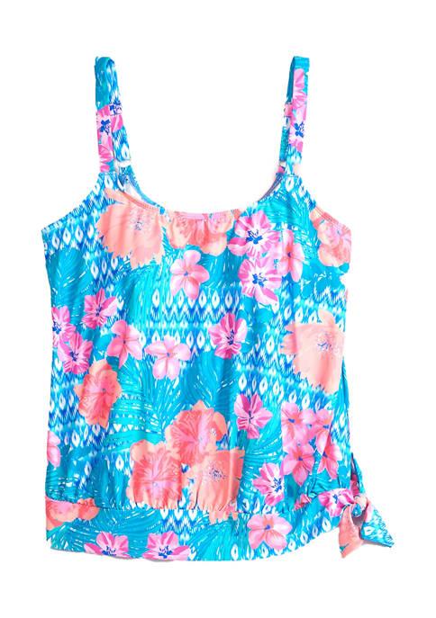 Plus Size Sarah Blouson Swim Tankini Top