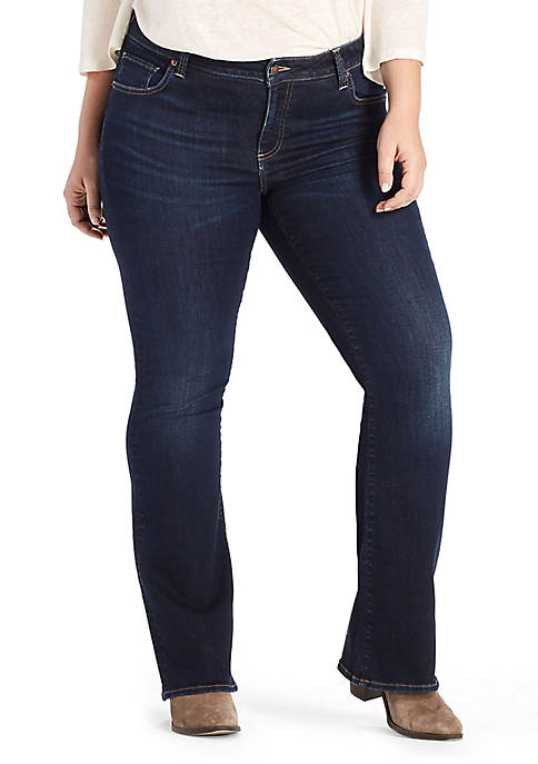 Plus Size Ginger Bootcut Jeans