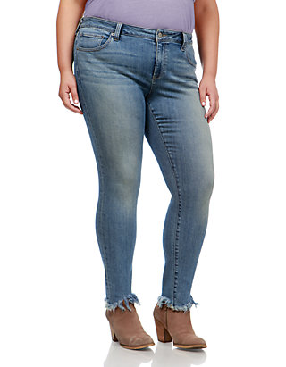 f7a4cc154cca Lucky Brand Plus Size Ginger Skinny Jean | belk
