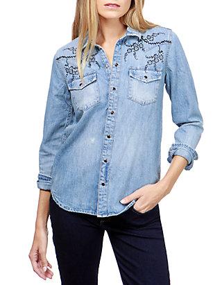edb71f498b Lucky Brand. Lucky Brand Western Long Sleeve Shirt