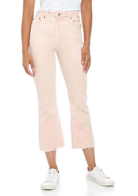Lucky Brand Bridgette Cropped Flare Jeans