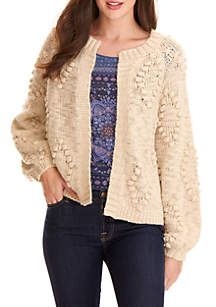 Bobble Diamond Cardigan