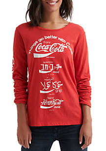 Lucky Brand Coca Cola Graphic Tee