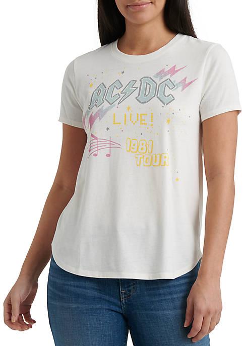 Womens ACDC 1981 Tour T-Shirt