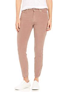 Lucky Brand Ava Mid Rise Corduroy Pants