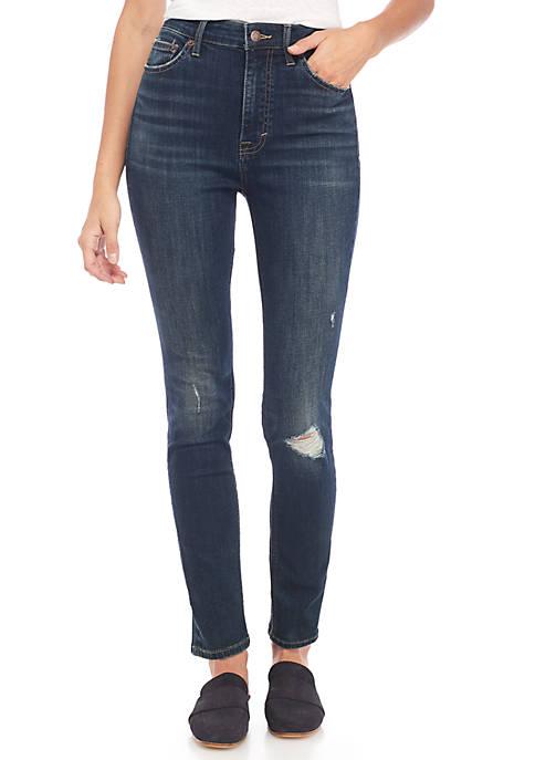 Lucky Brand Bridgette High Rise Destruction Jeans