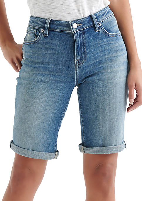 Lucky Brand Bermuda Denim Shorts