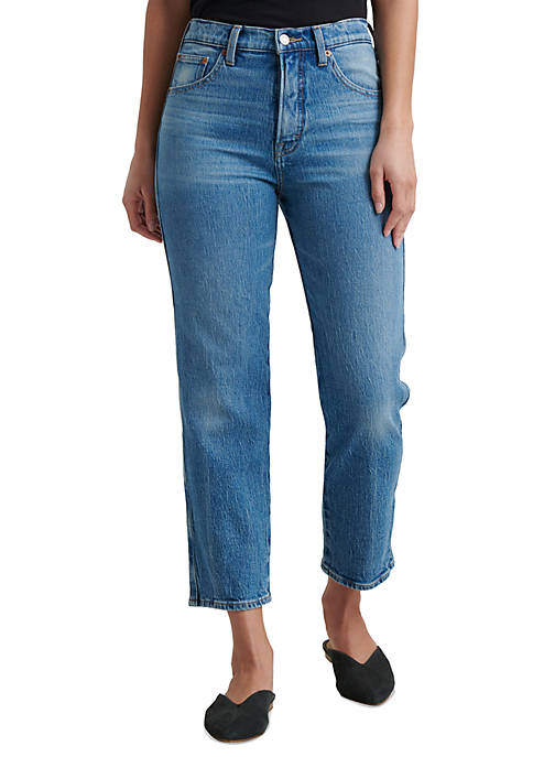 Lucky Brand Authentic Straight Cropped Jeans