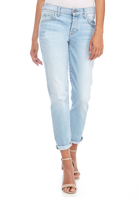 7 For All Mankind® Josefina Rolled Cuff Jeans