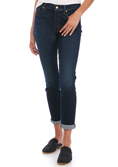 7 For All Mankind® Josfina Roll Hem Jeans