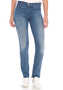 Ankle Skinny Jean With Extreme Hem
