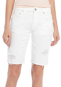 Straight Bermuda Shorts