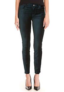 Skinny Velvet Jeans