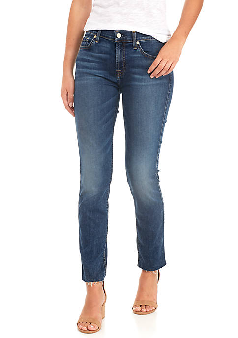 7 For All Mankind® Roxanne Ankle Cut-Off Hem
