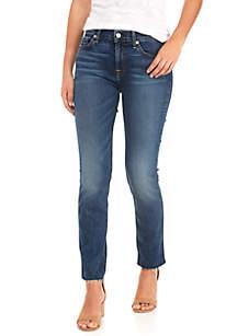 Roxanne Ankle Cut-Off Hem Jeans