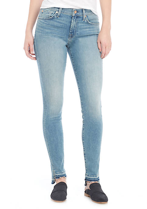 7 For All Mankind® Ankle Skinny Step Release