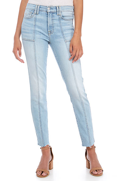 7 For All Mankind® Roxanne Panel Seam Ankle