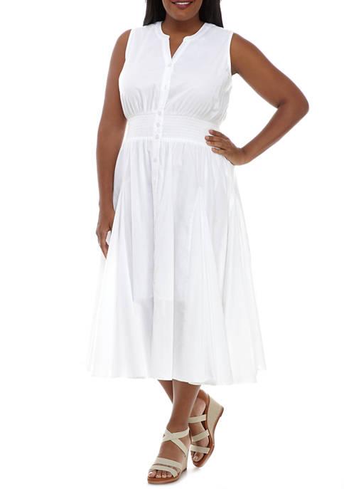 philosophy Plus Size Clip Dot Dress