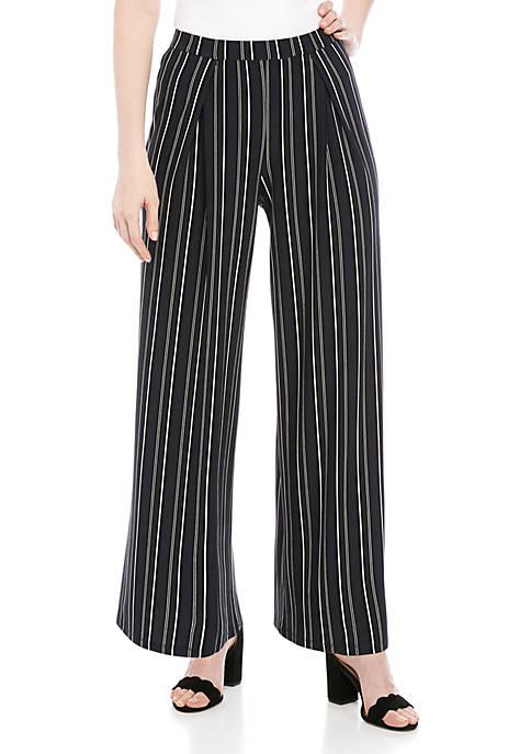 Knit Stripe Pants