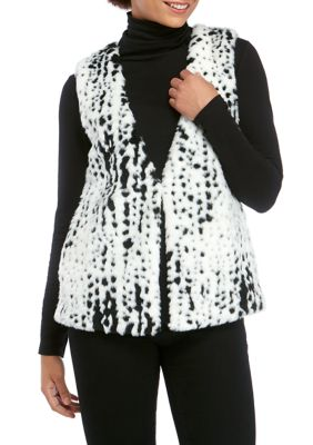 philosophy Women's Snow Cheetah Faux Fur Vest