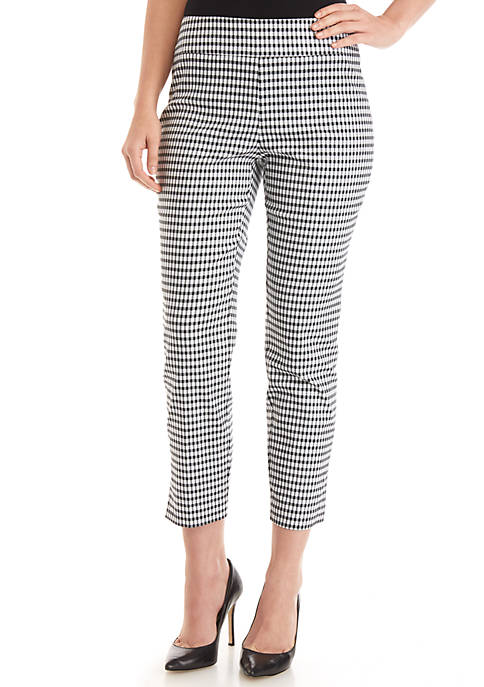 Grace Elements Gingham Pants
