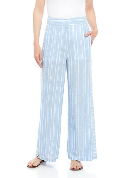 Way Stripe Linen Pants