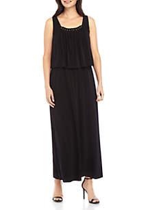 Grace Elements Black Maxi Dress