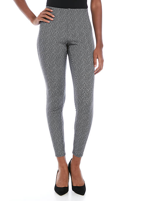 philosophy Womens Herringbone Pull On Pants