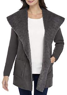 Sherpa Sweater Jacket
