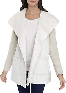Sherpa Sweater Jacket