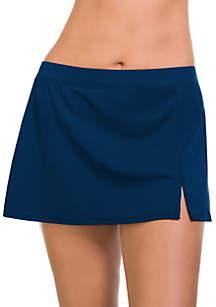 Caribbean Joe Side Slit Swim Skirt
