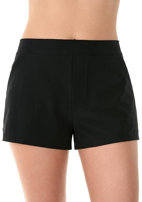 Caribbean Joe Woven Swim Shorts