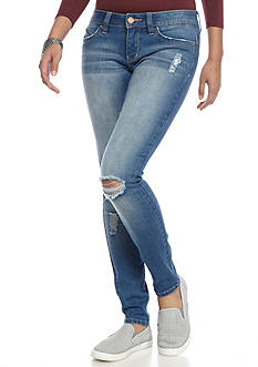 YMI Destructed Skinny Jeans