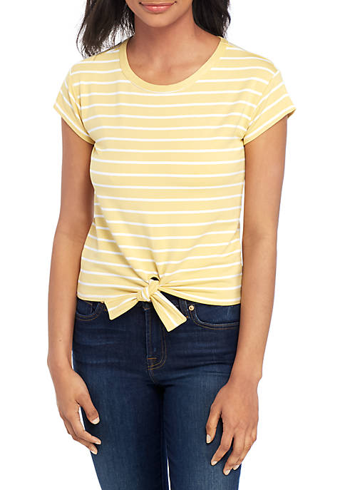 BB Dakota Stripes Ahoy Tie T Shirt