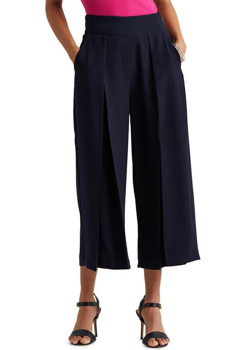 Lauren Ralph Lauren Pleated Georgette Pants