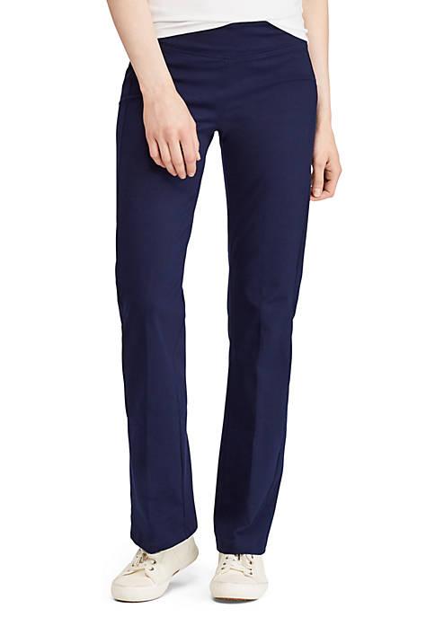 Lauren Ralph Lauren Jersey Straight Pant
