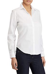 Wrinkle-Free Oxford Dress Shirt