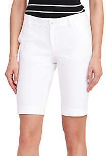 Stretch Cotton Short