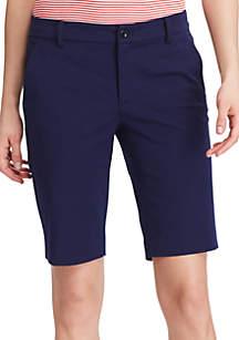 Lauren Ralph Lauren Stretch Cotton Shorts