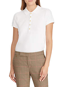 Lauren Ralph Lauren Stretch Piqué Polo Shirt