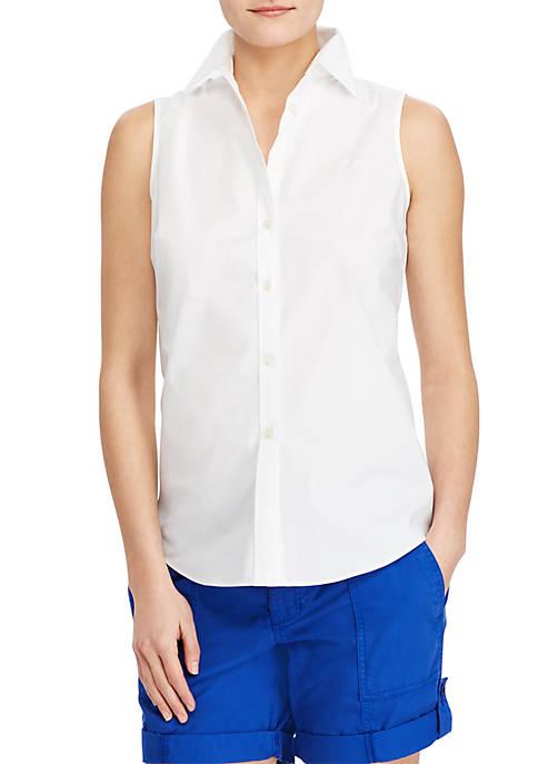 Lauren Ralph Lauren No-Iron Sleeveless Shirt