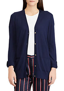 Cotton-Modal Cardigan