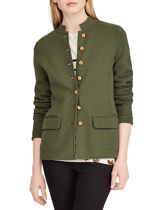 Lauren Ralph Lauren Cotton-Blend Officer's Jacket