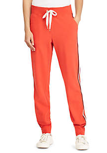 Striped French Terry Jogger Pant