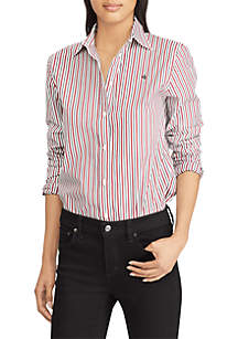 Striped Monogram Shirt