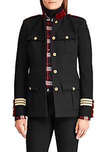 Cotton Blend Admiral Jacket