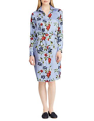 31652622ee1 Lauren Ralph Lauren. Lauren Ralph Lauren Print Twill Shirt Dress