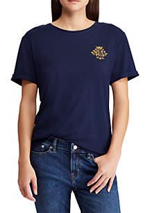 Crest Jersey T Shirt
