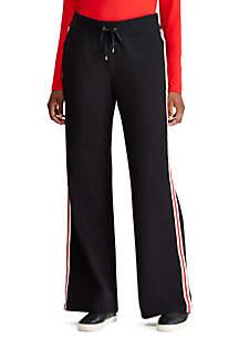Striped Cotton-Blend Sweatpant